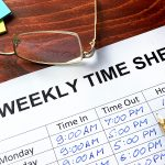 Timesheet management for construction site